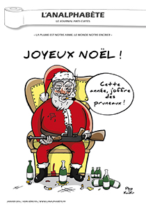 couverture n 06 hors-séries 2016 l'Analphabète journal satirique