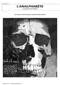 couverture n 01 février 2010 l'Analphabète journal satirique