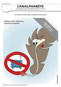 couverture n 02 hors-séries 2012 l'Analphabète journal satirique