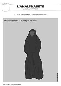 couverture n 03 avril 2010 l'Analphabète journal satirique