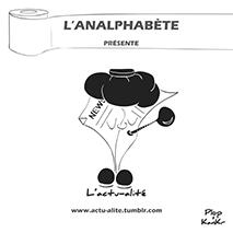 couverture n 03 hors-séries 2013 l'Analphabète journal satirique