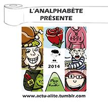 couverture n 05 hors-séries 2015 l'Analphabète journal satirique