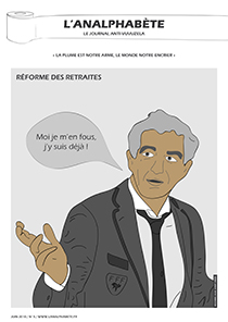 couverture n 05 juin 2010 l'Analphabète journal satirique