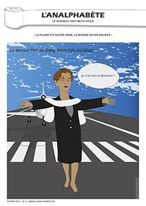 couverture n 13 février 2011 l'Analphabète journal satirique