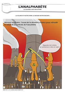 couverture n 14 mars 2011 l'Analphabète journal satirique