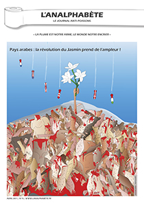couverture n 15 avril 2011 l'Analphabète journal satirique