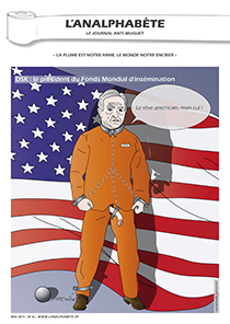 couverture n 16 mai 2011 l'Analphabète journal satirique