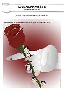 couverture n 20 septembre 2011 l'Analphabète journal satirique