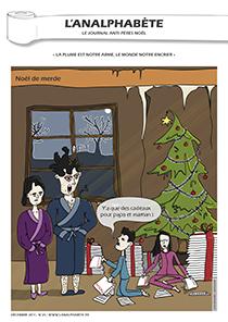 couverture n 23 décembre 2011 l'Analphabète journal satirique