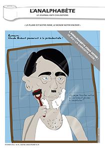 couverture n 25 février 2012 l'Analphabète journal satirique