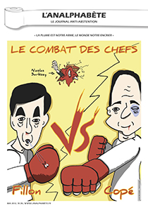 couverture n 28 mai 2012 l'Analphabète journal satirique