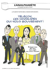 couverture n 35 décembre 2012 l'Analphabète journal satirique