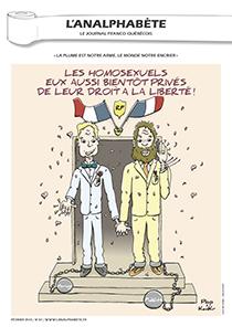 couverture n 37 février 2013 l'Analphabète journal satirique