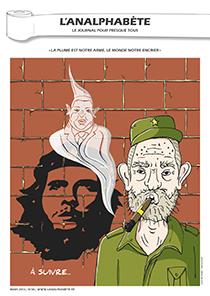 couverture n 38 mars 2013 l'Analphabète journal satirique