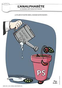 couverture n 39 avril 2013 l'Analphabète journal satirique