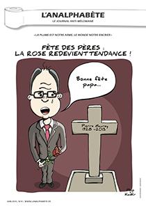couverture n 41 juin 2013 l'Analphabète journal satirique