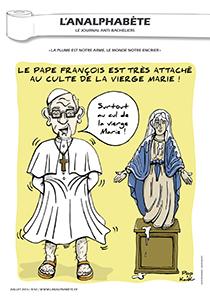 couverture n 42 juillet 2013 l'Analphabète journal satirique