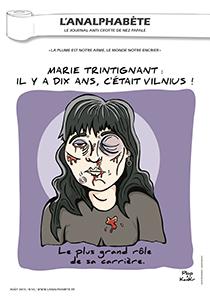 couverture n 43 août 2013 l'Analphabète journal satirique