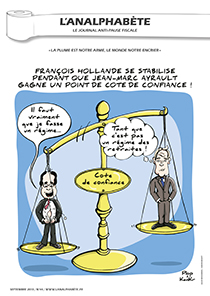 couverture n 44 septembre 2013 l'Analphabète journal satirique