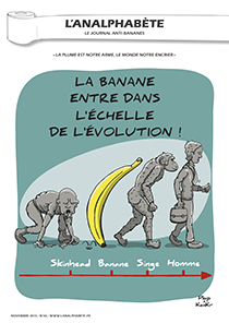 couverture n 46 novembre 2013 l'Analphabète journal satirique