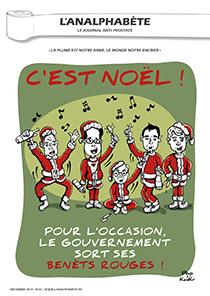 couverture n 47 décembre 2013 l'Analphabète journal satirique