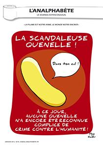 couverture n 48 janvier 2014 l'Analphabète journal satirique