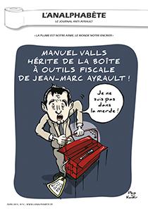couverture n 51 avril 2014 l'Analphabète journal satirique