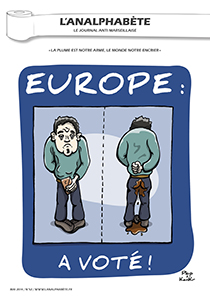 couverture n 52 mai 2014 l'Analphabète journal satirique
