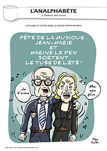 couverture n 53 juin 2014 l'Analphabète journal satirique