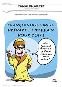 couverture n 59 décembre 2014 l'Analphabète journal satirique