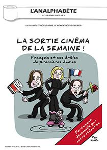couverture n 61 février 2015 l'Analphabète journal satirique