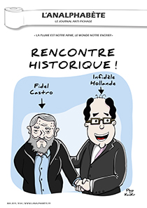 couverture n 64 mai 2015 l'Analphabète journal satirique