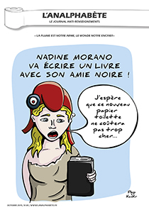 couverture n 69 octobre 2015 l'Analphabète journal satirique