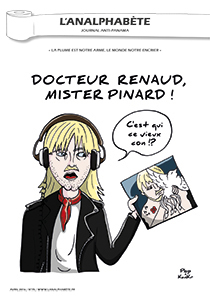couverture n 75 avril 2016 l'Analphabète journal satirique