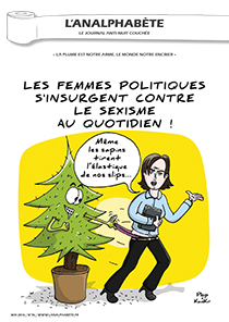 couverture n 76 mai 2016 l'analphabète journal satirique