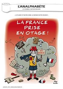 couverture n 77 juin 2016 l'Analphabète journal satirique