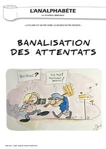 couverture n 88 juin 2017 l'analphabète journal satirique
