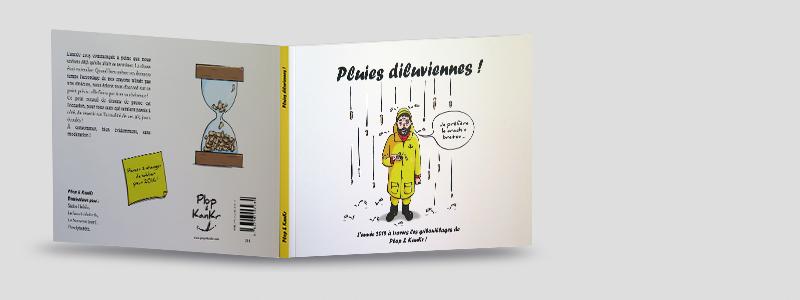 Pluies diluviennes ! De Plop & KanKr